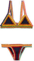 KIINI Tasmin Crochet Trim Bikini