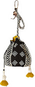 Anthropologie beaded bucket bag