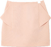 Cos skirt with draped pockets