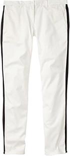 GAP tuxedo-stripe khakis
