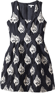 Shell Jacquard Dress