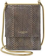 Snakeskin Mini Crossbody Bag