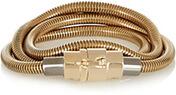 Gold Tone Snake Bracelet