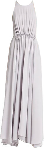 3.1 Philip Lim Gathered Waist Silk Maxi Dress