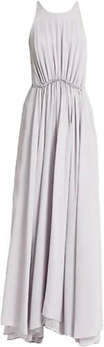 3.1 Philip Lim Gathered Waist Silk Maxi Dress