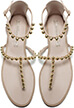Zara Bobble Detail Flat Sandals