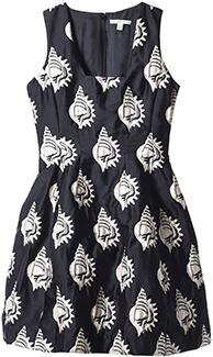Carven Shell Jacquard Dress
