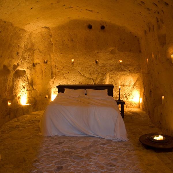Sextantio Le Grotte della Civita hotel, Matera, Italy