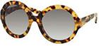 Prada Havana Round Sunglasses
