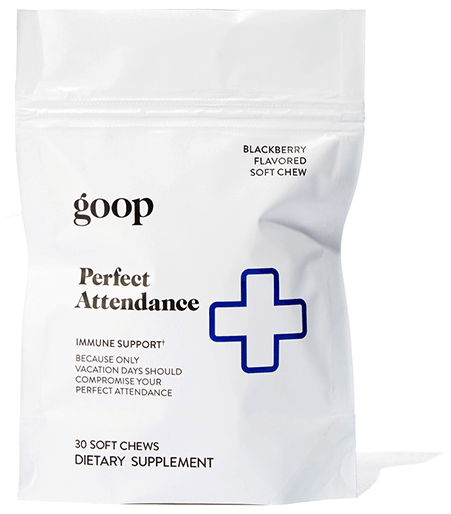 goop chews perfect attendance