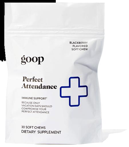goop chews perfect attendance