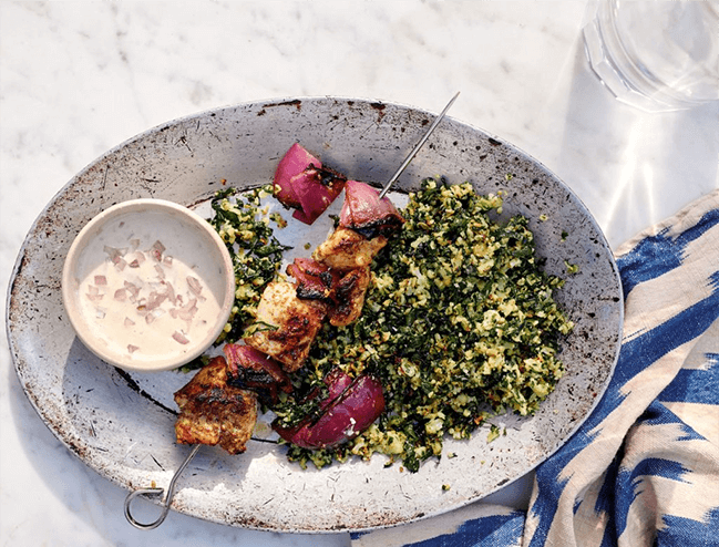 Za'atar Chicken Bowl