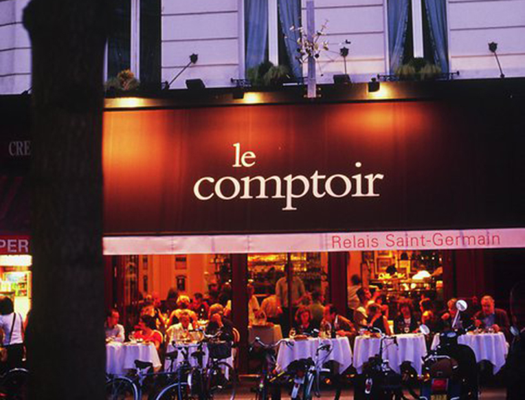 Paris in august goop - Le comptoir du relais restaurant menu ...