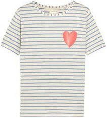 Chinti & Parker Striped Organic T-Shirt