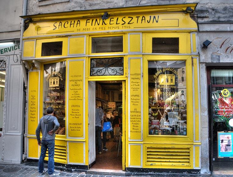 Sacha Finkelsztajn La Boutique Jaune