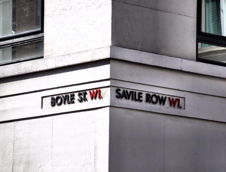 Savile Row & Jermyn Street