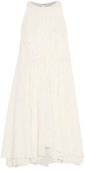 Alexander McQueen Trapeze Jacquard Dress