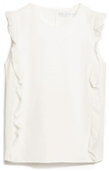 & other stories RUFFLE TOP