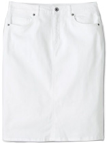 Women's 5-pocket Jean Skirt