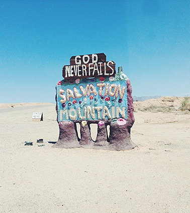Leonard Knight, Salvation Mountain