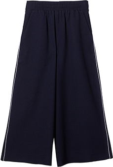 mother of pearl MINOS WOOL PIQUET CULOTTES