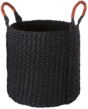 BLACK SMALL BASKET