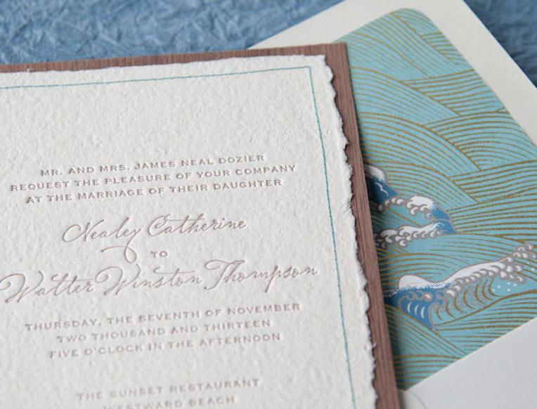 Tiny Pine Press Letterpress Stationery