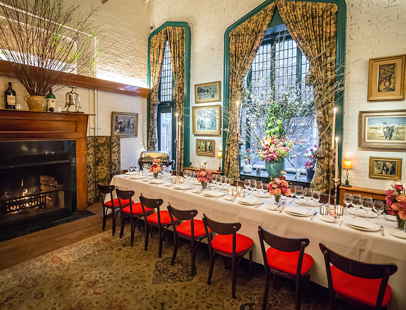 La grenouille goop for Best private dining rooms midtown
