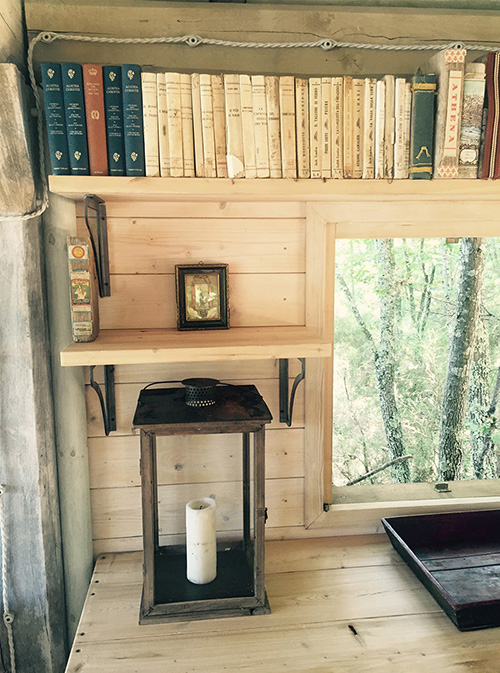 Count Bolza's incredibly chic cabin by the lake.