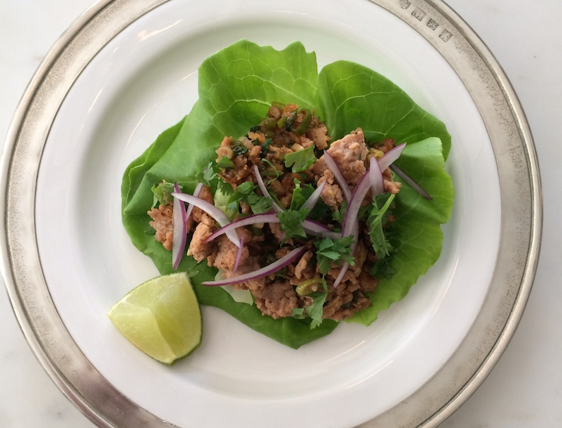 Easy Turkey Larb