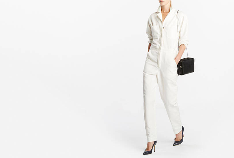 How to Make a Workwear-Inspired Jumpsuit Feminine
