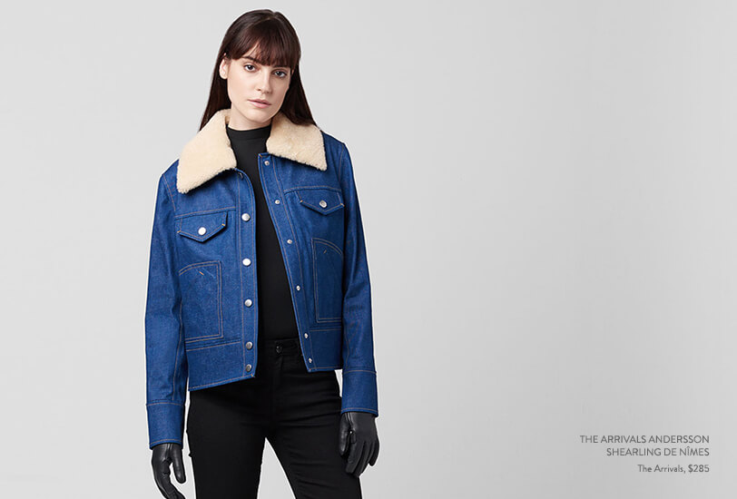 The Next Big Thing in Outerwear? The Arrivals