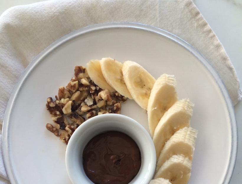 BananawithChocolate&Walnuts