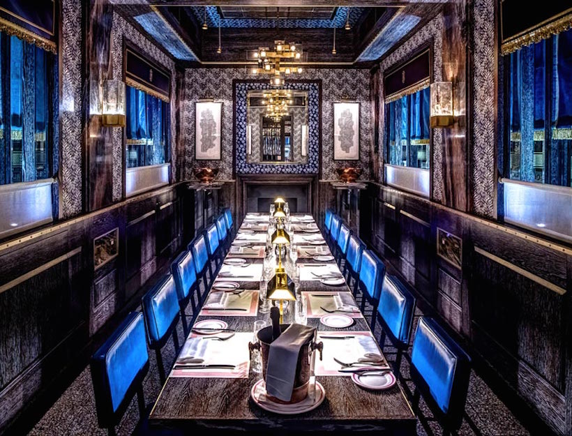 bob bob ricard - Private Dining Rooms