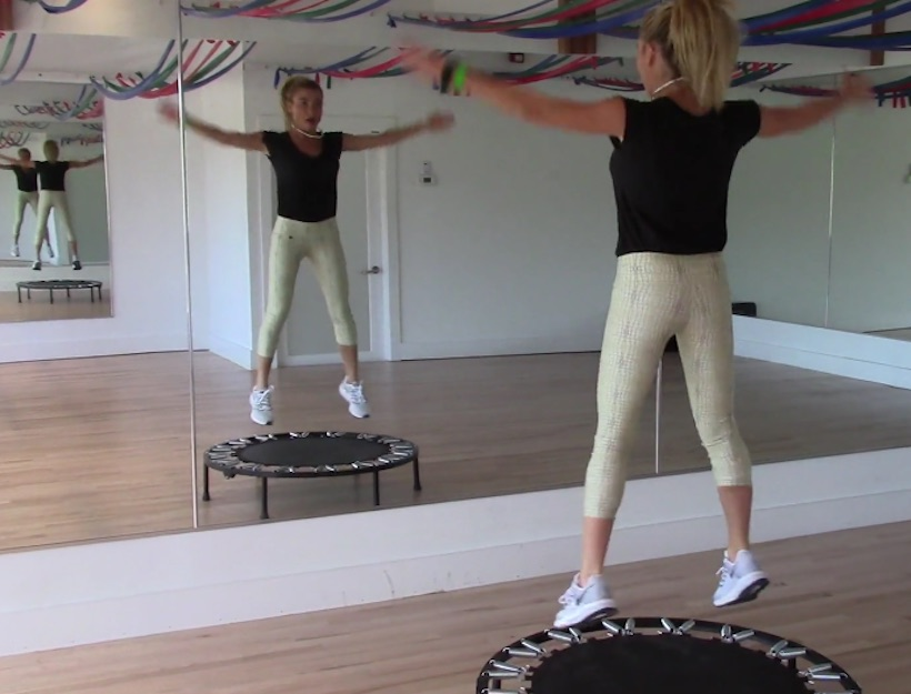 The Lymphatic System & A Rebounding Video with Tracy Anderson