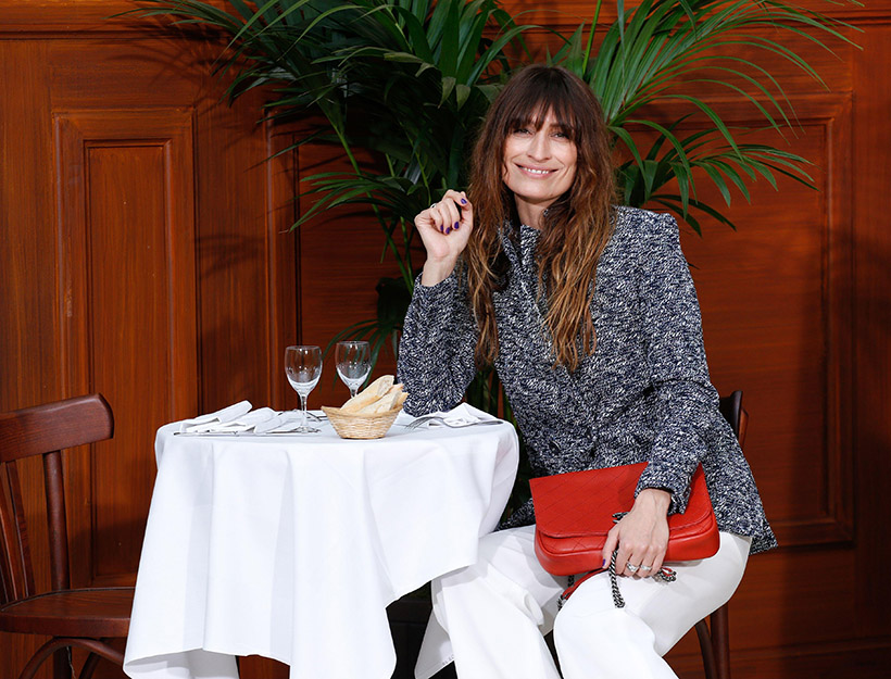 Mandatory Credit: Photo by REX Shutterstock (2672569m) Caroline de Maigret Chanel show, Autumn Winter 2015, Paris Fashion Week, France - 10 Mar 2015