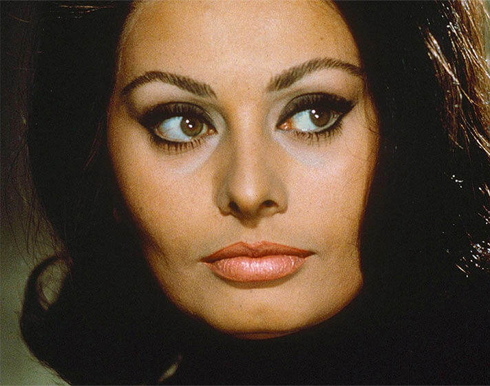 The Sophia Loren look