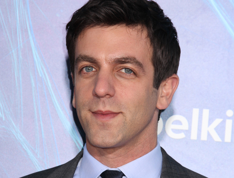 Mandatory Credit: Photo by Gregory Pace/BEI (3711101bv) BJ Novak 'The Amazing Spider-Man 2' film premiere, New York, America - 24 Apr 2014