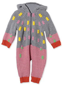 Wish It Were Our Size: His & Hers Knit Onesies