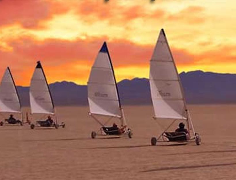 Omega Land Sailing