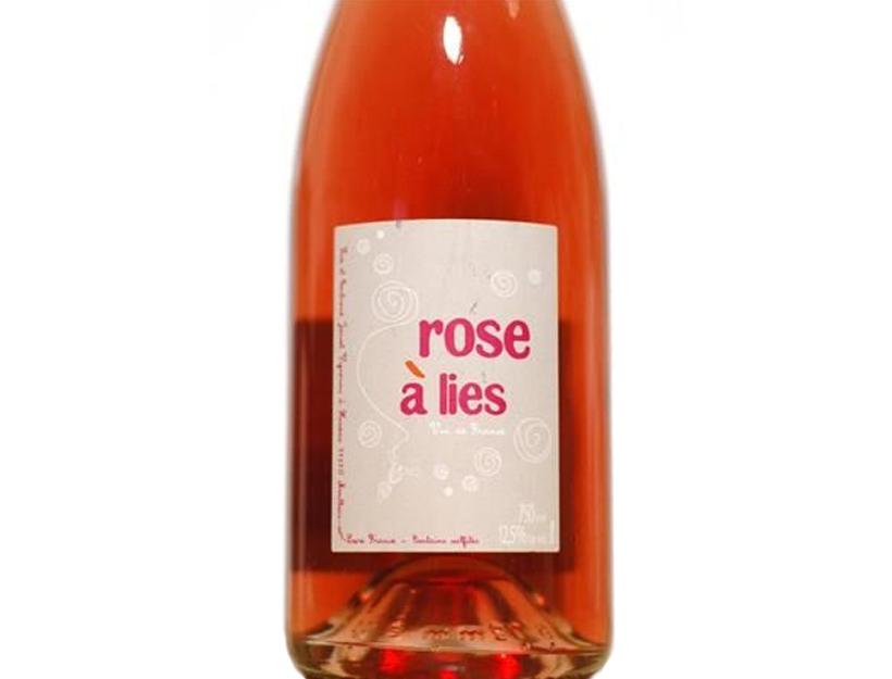 Lise et Bertrand Jousset Rose à Lies Pétillant Naturel 2014, $23
