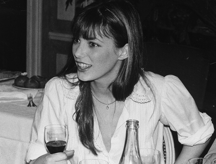 No Merchandising. Editorial Use Only Mandatory Credit: Photo by ITV/REX Shutterstock (526721qp) Jane Birkin - 1973 ITV Archive