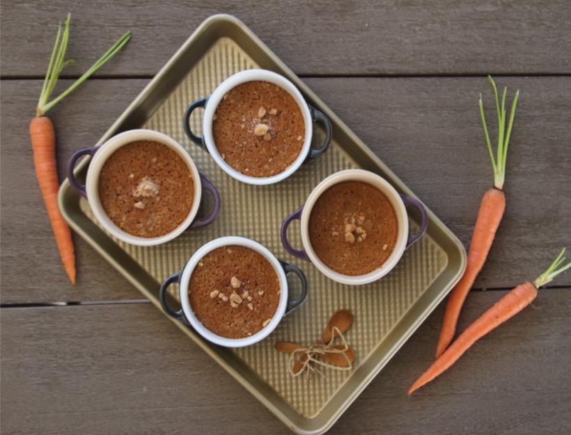 Soufflé aux Carottes (Carrot Soufflé)