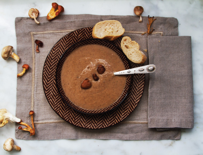 Soupe de Marrons (Chestnut and Mushroom Soup)
