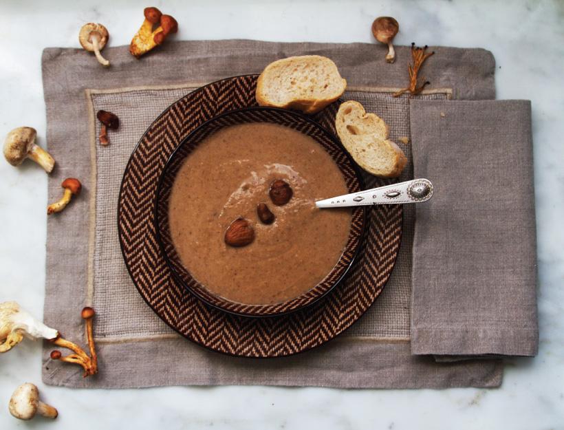 Soupe de Marrons (Chestnut and Mushroom Soup)