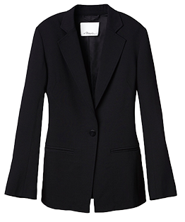 3.1 PHILLIP LIM Slimming Blazer with Curved Seamline