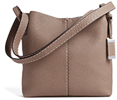 MICHAEL KORS COLLECTION MEDIUM SLOUCHY HOBO BAG IN GRAINED CALF LEATHER
