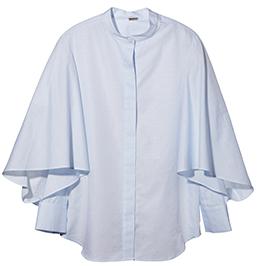 ADAM LIPPES Flounce Sleeve Shirt