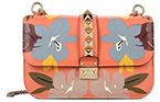 VALENTINO HAWAIIAN COUTURE CHAIN CROSS BODY BAG