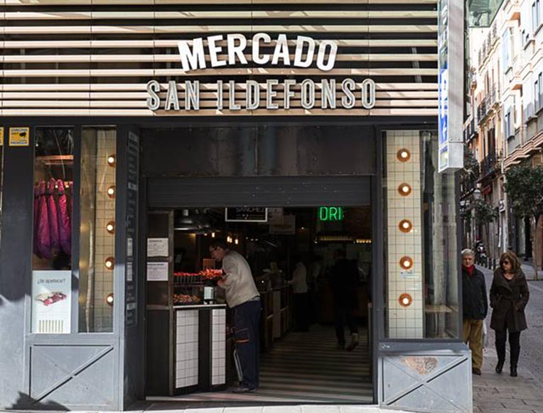 Mercado San Ildefonso
